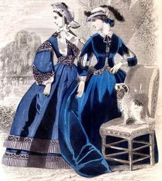 https://flic.kr/p/9cjp6j | 19th Century Fashion Plate: Peterson's Magazine, 1868