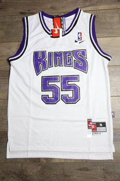 64f10b8a280 Men 55 Jason Williams Jersey White Sacramento Kings Throwback Swingman