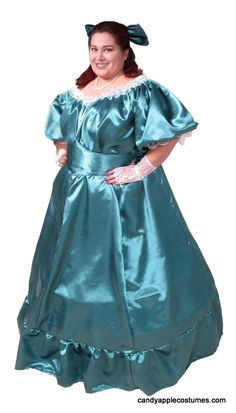 Deluxe Plus Size Southern Belle Costume - Candy Apple Costumes - XXXL and XXXXL Costumes