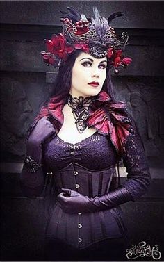 Mademoiselle Karma's divine gothic look. She wears our Cabaret Sheer ...