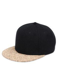 watch bb028 b790e Hip Hop Style Flat Brim Baseball Hat  Hats  Fashion  Womens  Men  Black