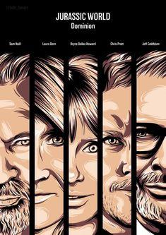 Film Jurassic World, Jurassic World Dinosaurs, Fan Poster, Prehistoric, Sci Fi, It Cast, Fan Art, Chris Pratt, Vanity Fair