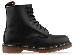 Dr. Martens 8 Eye Boot Mens in Black Monochrome at Solestruck.com
