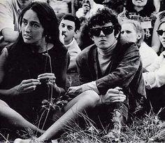 Joan Baez and Donovan