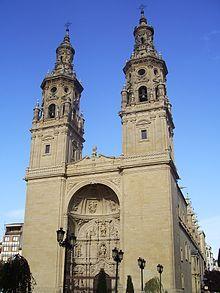 La Rioja (España) - Concatedral de Santa María de la Redonda, Logroño.