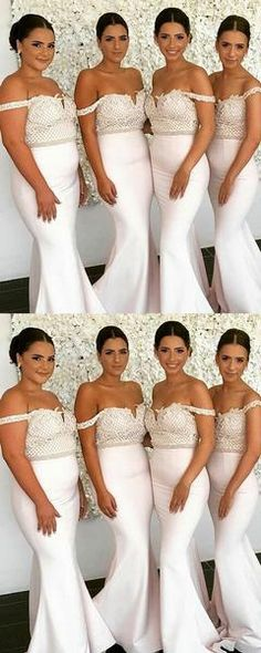 Sexy Mermaid Off Shoulder Long Bridesmaid Dresses With – Haircut Trends For Men and Womens – TrendPin Burgundy Bridesmaid Dresses Long, Mermaid Bridesmaid Dresses, Beautiful Bridesmaid Dresses, Bridesmaids, Bridal Skirts, Bridal Gowns, Western Wedding Dresses, Ball Gowns, Appliques