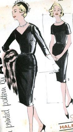 1960s Sheath Dress Pattern