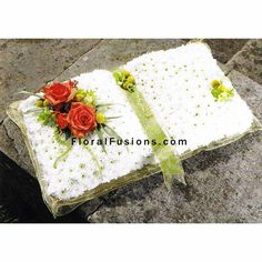 funeral flowers | Home › Funeral Flowers › Open Book