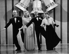 """""""Holiday Inn"""" (1942) - Bing Crosby, Marjorie Reynolds, Fred Astair, and Virginia Dale"""