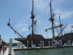 Historic replica ship, El Galeon, attracts steady streams of visitors in St. Augustine | jacksonville.com