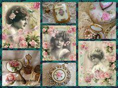 '' Victorian Roses '' by Reyhan Seran Dursun