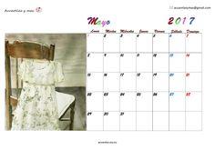 Que este mes de #mayo2017 esté lleno de momentos simples y maravillosos!!! #May #Calendar #calendario #painting #acuarelas #watercolor #artist  #draw
