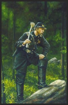 Colonel Joshua Chamberlain USA -Dan Nance