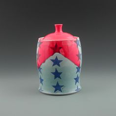 AMERICANA!  Brandi Jessup Pottery