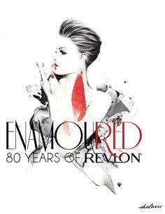 Enamoured: 80 Years of Revlon exhibition in London