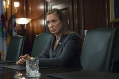Elizabeth Marvel as Heather Dunbar in House of Cards  season 4