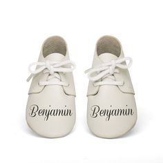 baby shoes personalized white baby shoes bebe by lespetitszoos