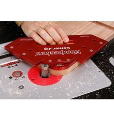 """Buy Woodpeckers One Time Tool Corner Jig Radius Set with Case at <a href=""""http://Woodcraft.com"""" rel=""""nofollow"""" target=""""_blank"""">Woodcraft.com</a>"""