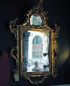 #Italian #gilt #mirror with #original #Mercury glass #london  #architects #interiorscheme #interiordesign #shoreditch…