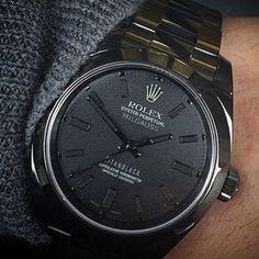 Titan Black Rolex Milgauss - cc: @LuxuryLifestyleMagazine  Photo @TitanBlackOut