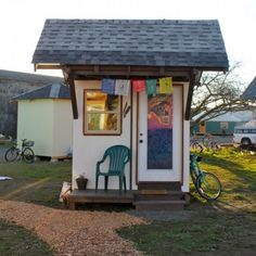 I want to show you how if you want to you can help create Emerald Village which is an upcoming tiny house village community designed to empower the homeless in Eugene, Oregon. The same group of peo...