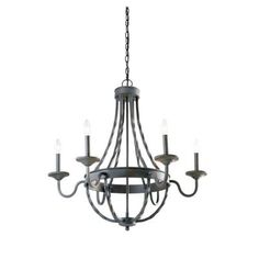 Hampton Bay Barcelona 6-Light Rustic Iron Chandelier-GTY9116A-2 at The Home Depot