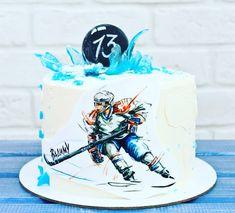 торт с хоккеистами картинки художника