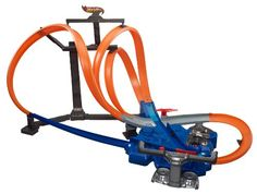 Totally Twisted Hot Wheels Fun It's fast-paced frenzy and multi-track madness like you've never seen before. This exciting Hot Wheels set triples the action with three tracks that loop (one even...