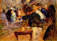 Elie Anatole Pavil   Ukrainian, 1873–1948   Oil on canvas,