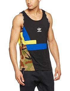Adidas Men's Block Tank Top, Men, Block