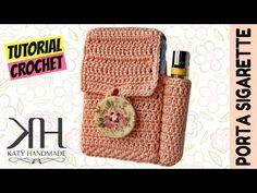 [ACCESSORI] Tutorial uncinetto porta sigarette/porta tutto | Idea regalo/Gift idea || Katy Handmade - YouTube
