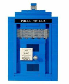 Custom Dr. Who Tardis MOC (My Own Creation) Made with Lego� Brand Building Brick
