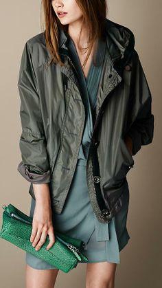 Burberry Brit Oversize Parka Jacket