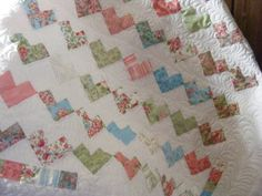 heart  - love this pattern...touching story, too.   Would make a beautiful quilt for a baby girl