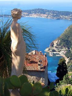 Cote d'Azure - France, town of Eze. Such an idyllic place to visit. The bus ride from Nice was so beautiful