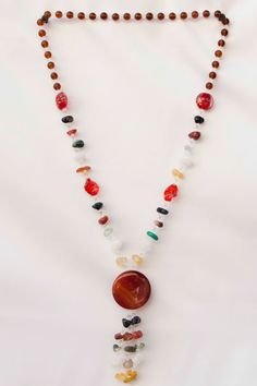 Our beautiful Quartz Stone Necklaces offers an elegant look from one of earth's most abundant minerals—a gemstone available in an array of rich colors and varieties, including rose, smoky, pink, carnelian, Drusy, amethyst, onyx, chalcedony, jasper, agate, mountain crystal and sard. Our elegant necklaces are sure to lure and captivate, and each represent their own unique, natural essence.