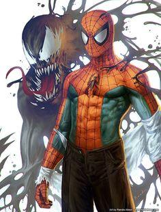 Marvel Comic's Spiderman Venom