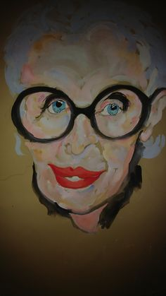 Paul Brown, Paintings, Illustrations, Instagram, Art, Iris Apfel, Art Background, Paint, Painting Art