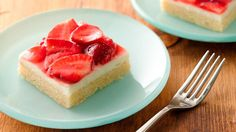 Voted Best Red Carpet Dessert of 2008!  Looking for that new dessert to wow a crowd? It's the one that you'll make over and over, and everyone asks for the recipe? Try this one, made easier with a cookie mix Strawberries and cream Dessert