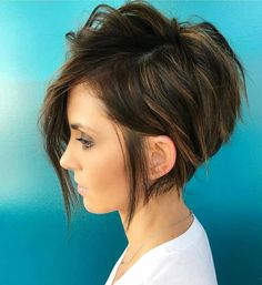 30 Winning Looks with Long Pixie Haircuts in Here are the greatest ways to wear short hair; 30 Winning Looks with Long Pixie Haircuts in These sophisticated long pixie cuts., Pixie Haircuts and Hairstyles Latest Short Hairstyles, Cute Hairstyles For Short Hair, Curly Hair Styles, Trendy Hair, Black Hairstyles, Cute Short Haircuts, Short Brunette Hairstyles, Brunette Pixie, Summer Haircuts