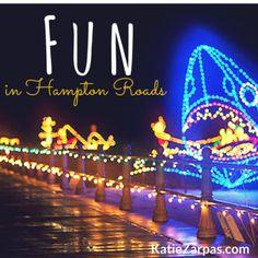 Fun in Hampton Roads... a list of fun stuff to do in Norfolk, Virginia Beach, Chesapeake and more!