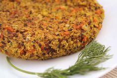 INGREDIENTES para 2 pers. 125 gr de quinoa de tres colores. 1 zanahoria picada…