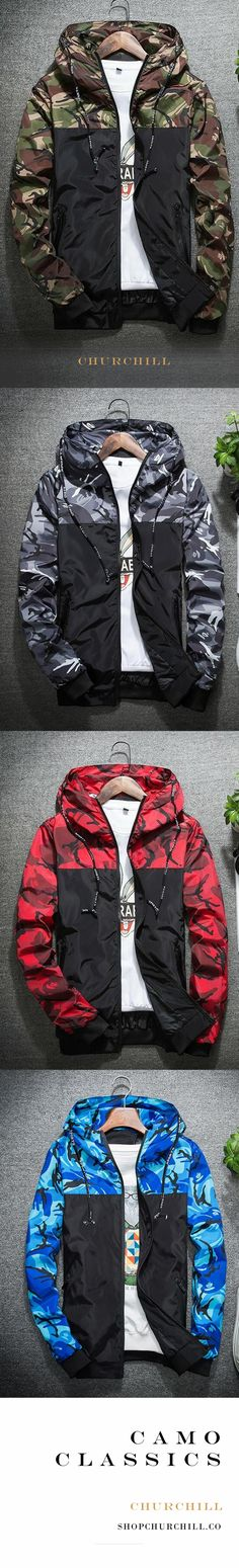- Slim Fit Camouflage Zip-Up Jacket Hunter: Camo Print Jackets ★★★★★ Fit or FIT may refer to: Look Fashion, Winter Fashion, Mens Fashion, Fashion Outfits, Cool Outfits, Casual Outfits, Men Casual, Camouflage Makeup, Camo Print Jacket