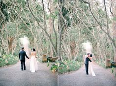 Tash and Andrew's Stylish Deux Belettes Wedding