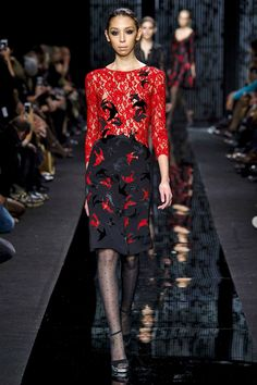 The DVF Fall 2015 Collection - Seduction