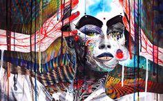 Trippy Psychedelic Art Fabric Poster 21 x Hippie Wallpaper, Trippy Wallpaper, Cindy Sherman, Background Images Wallpapers, Wallpaper Backgrounds, Iphone Wallpaper, My Canvas, Canvas Wall Art, Canvas Poster