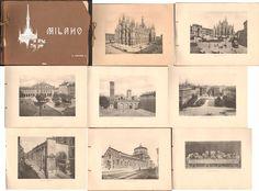 MILANO 20 FOTOGRAFIE MODIANO-GRANDE FORMATO-cm. 31 X 22-FINE '800-PRIMI '900