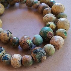"""Ancient Glass Islamic Period Beads from the """"Roman Period"""" (Circa 100 AD-800 AD), found in Afghanistan."""