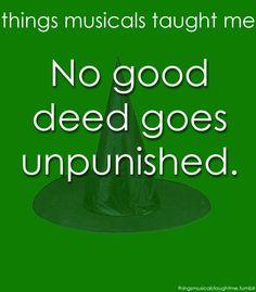 No good deed goes unpunished.