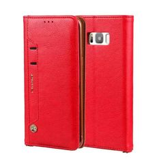 High Quality Flip Folio PU Leather Stand Cover Cases for Galaxy S8 & Galaxy S8 Plus
